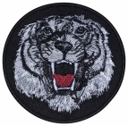 Tiger embroidery patch #2