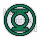 Green Lantern embroidered patch