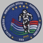 Russian ROSCOSMOS Space Sleeve Patch Soyuz TMA-6 ENEIDE