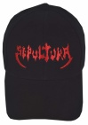 Sepultura music band black embroidered baseball cap #2