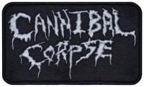Cannibal corpse american music band patch v2