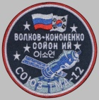 Russian Space Programme Sleeve Patch Soyuz TMA-12