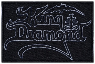 King Diamond heavy metal band  logo embroidered music patch