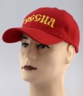 Russian Federation Flag of Russia Embroidered Red Cap