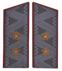General-Lieutenant USSR uniform coat shoulder boards
