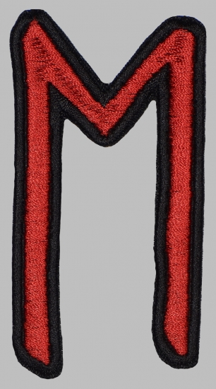 Ehwaz Elder Futhark Rune Germanic Alphabet Patch
