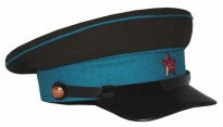 Soviet Army Air Force Airforce Uniform Visor Hat VVS Replica