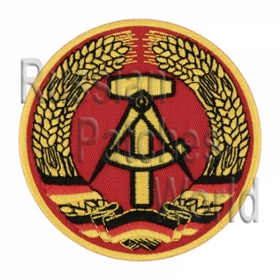Deutsche Democratic Republic DDR coat of arms Interkosmos patch