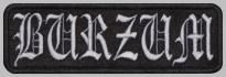 Burzum music embroidered patch v1