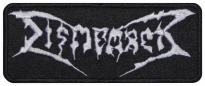 DISMEMBER death metal band embroidered patch #2