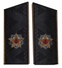 Soviet Russian Admiral's of fleet uniform shoulder boards