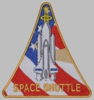 SPACE SHUTTLE 1981-2010 Sleeve PATCH #2