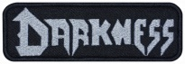 Darkness music band embroidered patch