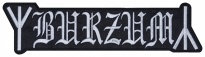 Burzum music band embroidered big patch #3