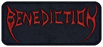 Benediction death metal embroidered music patch