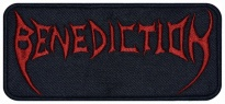 Benediction death metal music embroidered patch