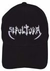 Sepultura music band black embroidered baseball cap #1