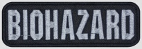 Biohazard music band embroidered patch