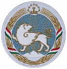 Crest of TADJIKISTAN Embroidered Sleeve Patch Coat of arms