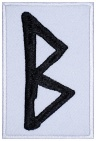 Berkana Futhark Rune Germanic Alphabet Patch v2#2